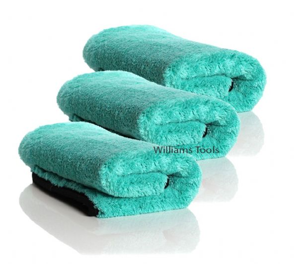 3 x Auto Finesse Aqua Deluxe Microfibre Drying Towel